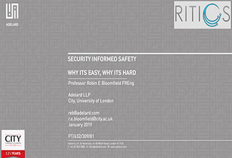 Security informed safety – why its easy, why its hard